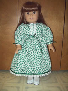 American Girl St. Patrick Day Dress