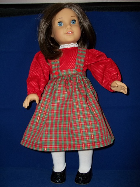 American Girl Christmas Jumper-Blouse