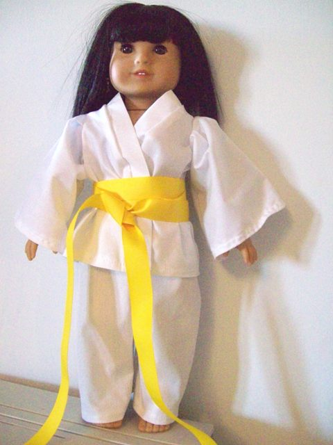 American Girl Karate Uniform-Karate Gi for American Girl