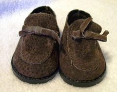 American Girl Brown Loafers